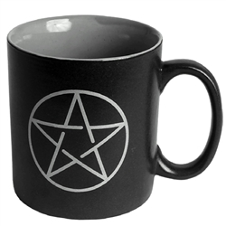 Large Pentagram Coffee Mug