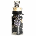 Witch Bottle Pendant with Black Tourmaline