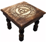 Triquetra Flowers Altar Table