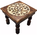 Witchy Moon Altar Table