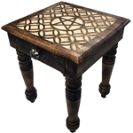 Tall Pentagram Altar Table