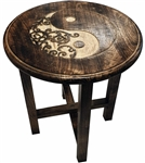 Tall Ying Yang Altar Table