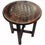 Tall Flower of Life Altar Table