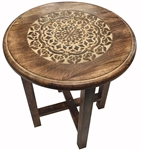 Tall Mandala Altar Table