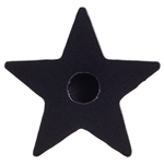 Black Star Wish Candle holders