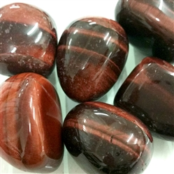 Tiger Eye Red Tumbled Stone