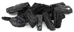 Untumbled Black Tourmaline Stone