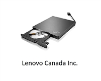 <!190>ThinkPad UltraSlim USB DVD Burner, Lenovo, 4XA0E97775
