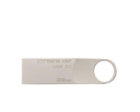 <!260>32GB DataTraveler 100 G3 USB Flash Drive, Black, Kingston, DT100G3/32GB