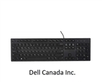 <!800>Wired French Canadian KB216 keyboard, Dell, 580-ADRQ