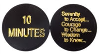 AA Plastic Chip featuring the Serenity Prayer - The 10 Minute Chip - Recovery Shop & Recovery Emporium