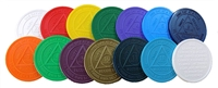 RE Style A - Plastic AA Anniversary Chips - Assorted Colors | $ .15 each or 30% off 200pc or More