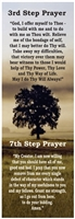 AA 3rd and 7th Step Prayers Bookmark