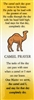 Camel Prayer Laminated Bookmark