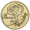 Women In Recovery Rose Bronze Medallion