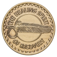 Healing Spirit of Recovery Bronze Inspiration Medallion
