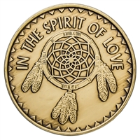 The Spirit of Love Dream Catcher Medallion