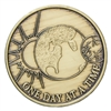 One Day at a Time  (Sun-Earth-Moon) Bronze Inspiration Medallion