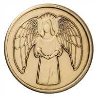 Angel Bronze Inspiration Medallion