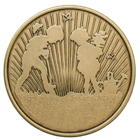 Plant The Seeds Bronze Inspiration Medallion