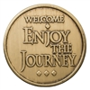 Welcome Enjoy the Journey Bronze Recovery Coin