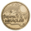 Expect Miracles Bronze Inspiration Medallion