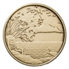 Serenity is Peace within the Storm Bronze Medallion