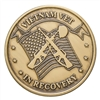 Vietnam Vet Bronze Inspiration Medallion