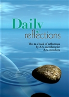 AA Daily Reflections Large Print Meditation Book