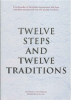 AA Twelve Steps and Twelve Traditions - Large Print Book