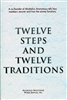 AA Twelve Steps and Twelve Traditions Hardback Book