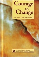 Courage to Change - Hard Cover - Large Print - Daily Meditation Book