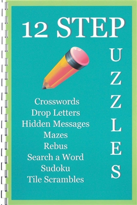 12 Step Puzzles Book