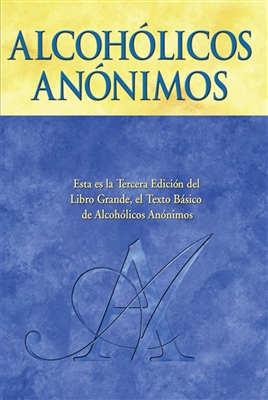 Alcoholics Anonymous Big Book - Hardcover - Spanish Translation