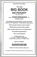 AA Big Book Dictionary