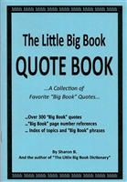 Little Big Book Quote Book