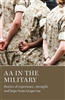 The cover of AA in the Military book by AA Grapvine publications and sold at Recoveryshop | Recovery Emporium
