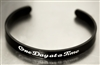 One Day At A Time Bracelet with Adjustable Leather Band | RecoveryShop