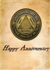 AA Happy Anniversary Greeting Card