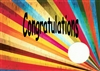 Recovery Congratulations with Medallion Cut Out Card
