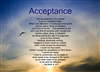 AA Acceptance Verse Greeting Card