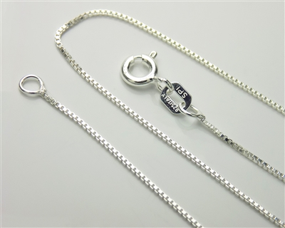 Sterling Silver Light Box Chain 9
