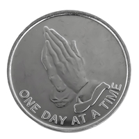 AA ODAT Praying Hands Aluminum Coin
