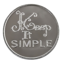 Keep It Simple Aluminum Recovery Coin