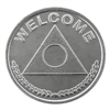 Al-Anon Welcome Aluminum Coin