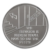 The Elevator is Broken Aluminum Recovery Coin