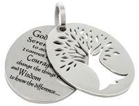 Two Piece Tree of Life Pendant