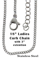 Ladies Curb Chain