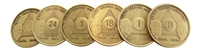 AA Founders Bronze Anniversary Medallions  | $1.20 ea