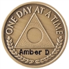 Engraved Al-Anon Coin featuring an Anniversary Date by Recovery Emporium - Recovery Shop